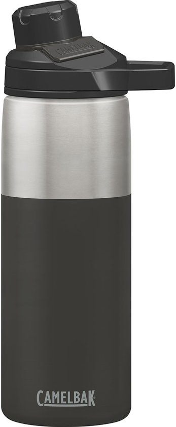e699d4cbf5c CamelBak Chute Mag Stainless Vacuum Insulated Iso Drinkfles - 600 ML -  Antraciet (Jet)
