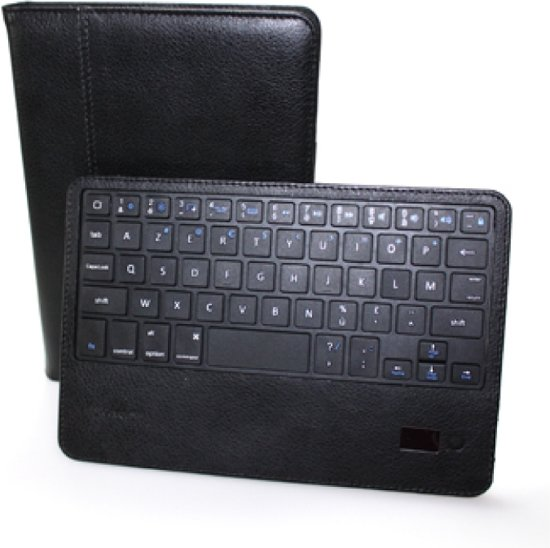 mr Handsfree Blue iCover Mini for iPad Mini - azerty