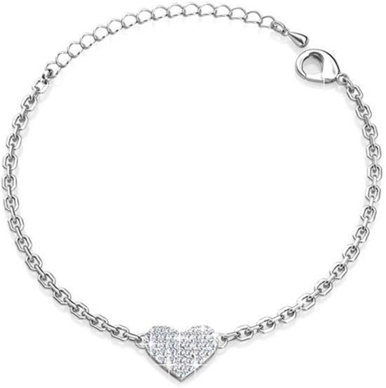 Yolora armband - Swarovski kristal - 22,5 cm - Magnifique