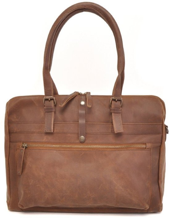 b05af00556b bol.com | Barbarossa Ruvido Dames Laptop Schoudertas 15.4 Coffee