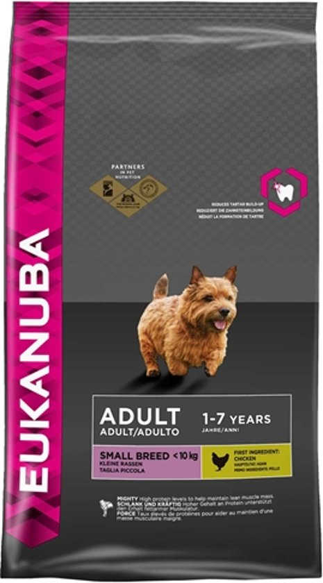 Eukanuba Dog Adult - Small Breed - Hondenvoer - 1 kg
