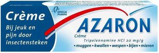 Azaron crème - bij jeuk en pijn door insectensteken - 10g