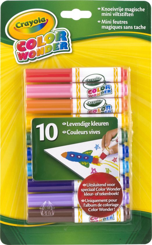 Crayola Color Wonder - 10 mini stiften