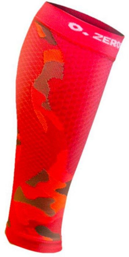 ZeroPoint compressie calf sleeves Camo-Koraal - L