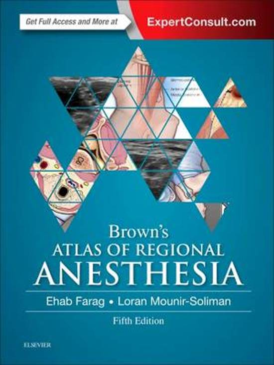 Brown's Atlas of Regional Anesthesia