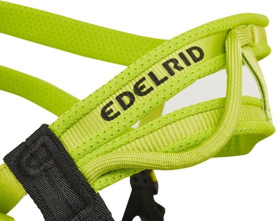 Edelrid Huascaran klimgordel S grijs/groen Maat M