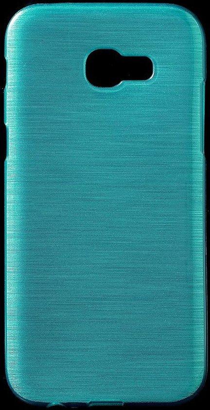 Coque Tpu Brossé Turquoise Pour Samsung Galaxy A3 (2017) 7ZjaXEIU