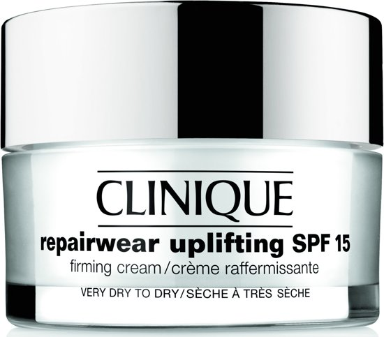 Clinique Repairwear Uplifting SPF 15 Firming Cream Very Dry To Dry Skin - 50 ml - Dagcrème