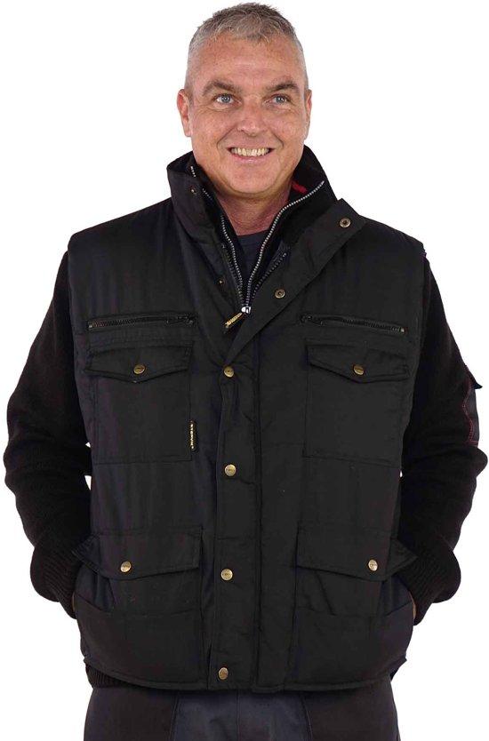 Storvik Bodywarmer Heren Zwart - Maat L (52) - Pocket
