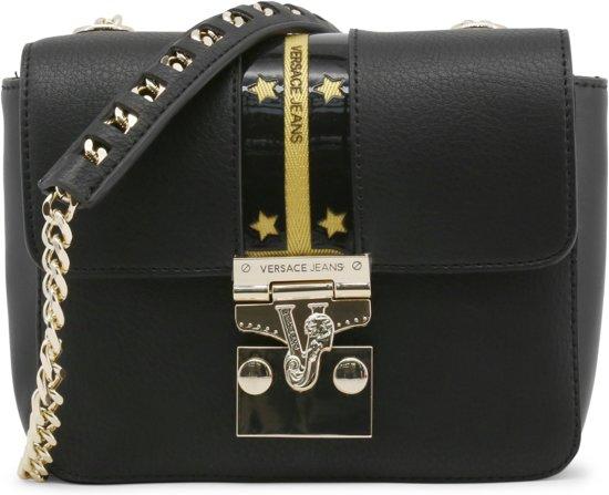 c797445976a bol.com | Versace Jeans Dames Crossbody tas Zwart