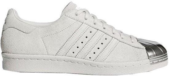 Adidas Sneakers Superstar 80s Dames Wit/zilver Maat 36