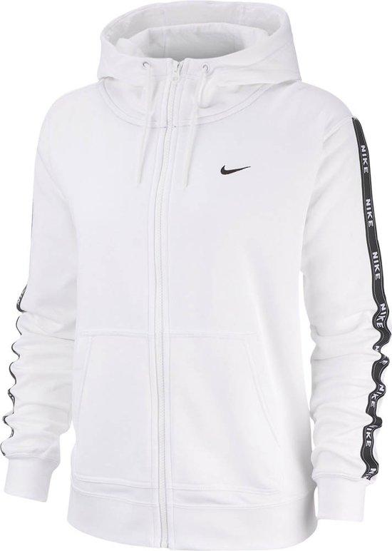 bol.com   Nike Nsw Hoodie Fz Logo Tape Vest Dames - White ...