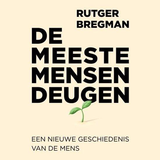 Boek cover De meeste mensen deugen van Rutger Bregman (Onbekend)