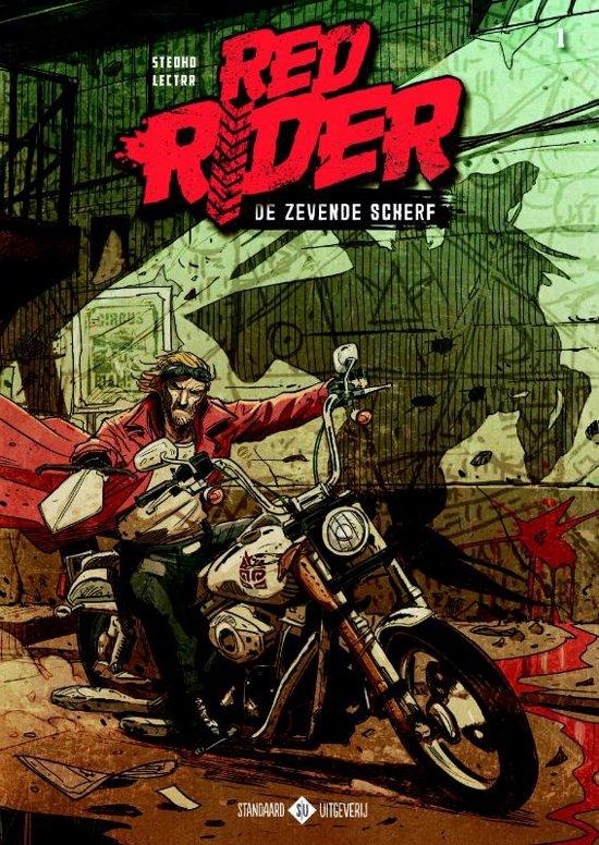 Boek cover Red Rider 1 - De zevende scherf van Stedho (Paperback)