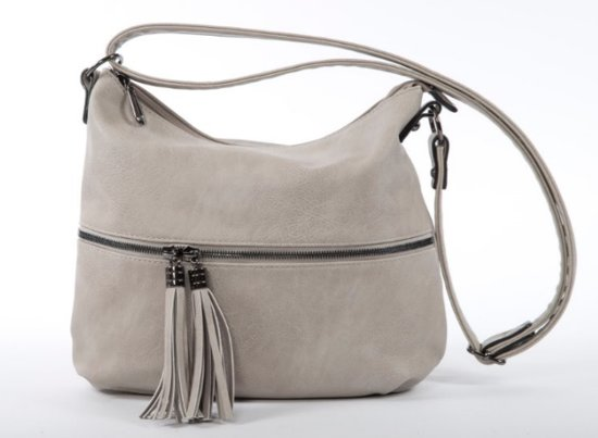 Crossbody Tas Vintage Dames amp; taupe Flora H9046 Schouder Co Claire tfvq6nwR