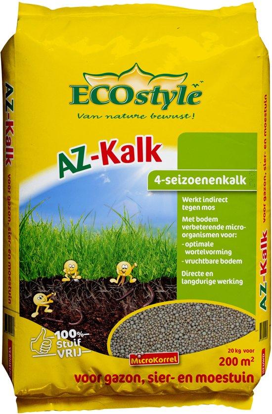 ECOstyle AZ-Kalk - 20 kg - kalk voor 200 m2
