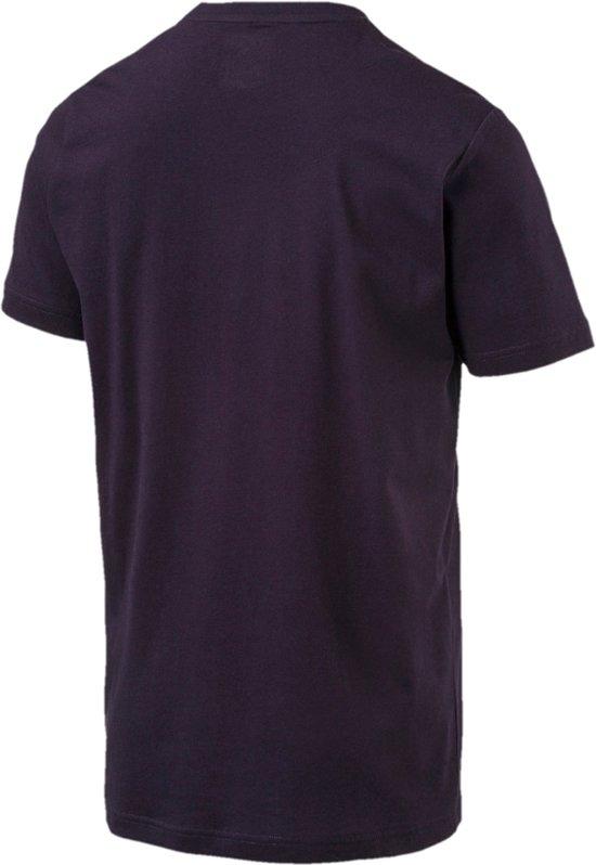 PUMA RBR Logo Tee Shirt Heren - Night Sky