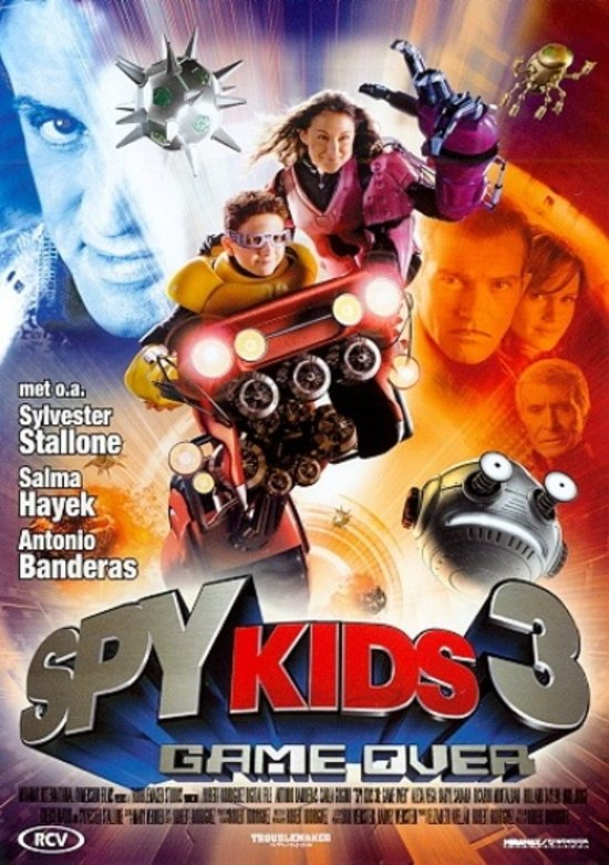 DVD cover van Spy Kids 3 - Game Over