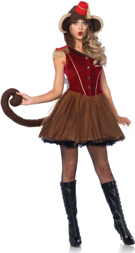 2ae72738c6ae05 Mechanische circusaap kostuum voor vrouwen - Verkleedkleding - Maat M