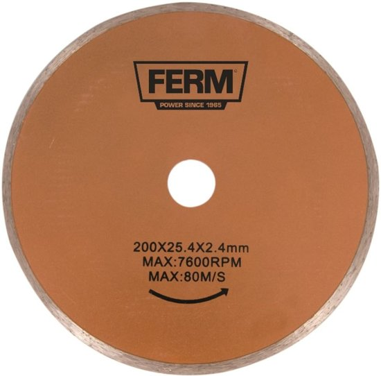 FERM Diamant zaagblad 200mm - Voor TCM1011 - TCA1006