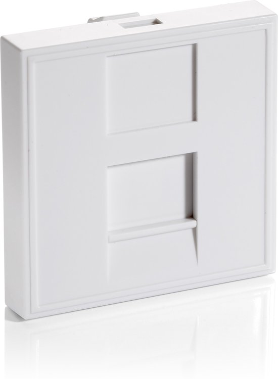 Equip 125471 French Modular Insert [45x45mm 1-fold, pure white]