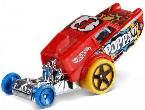 c935c1c91927ee bol.com | Hot Wheels Art-cars Auto Poppa Wheelie 7 Cm Rood/zilver ...