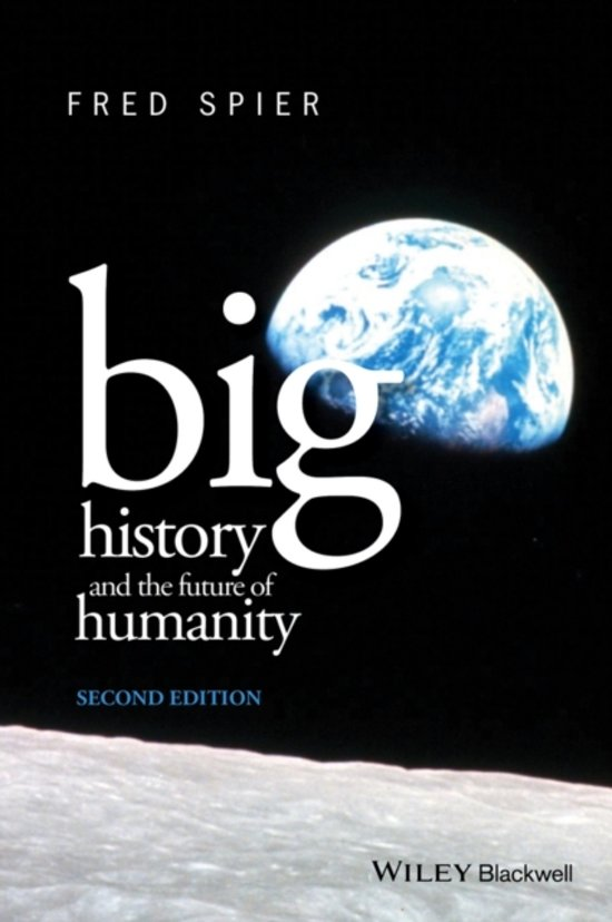 Boek cover Big History and the Future of Humanity van Fred Spier (Paperback)