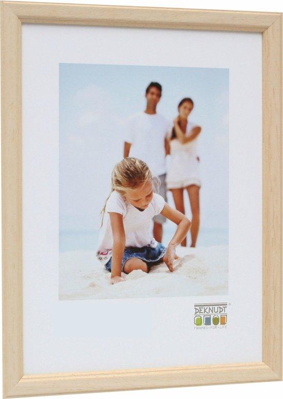 Bolcom Deknudt Frames Basic Smal Naturel Hout Fotomaat 30x40 Cm