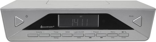 Soundmaster UR2040SI zilver