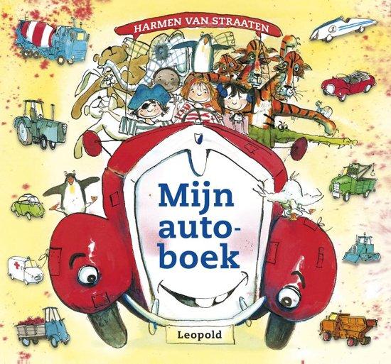 Boek cover Mijn autoboek van Harmen van Straaten (Hardcover)