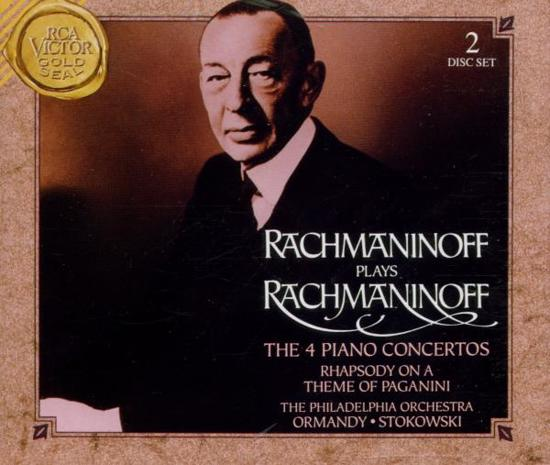 Rachmaninoff plays Rachmaninoff - The 4 Piano Concertos, etc