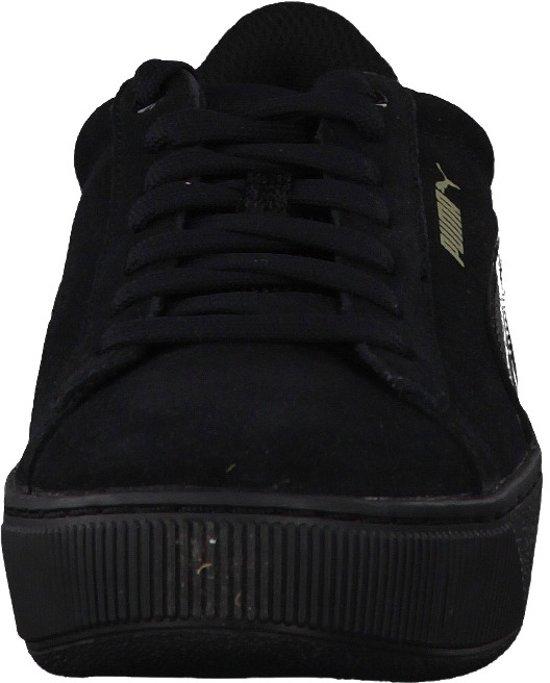 Puma black Maat Sneakers Vikky Black 38 Dames Platform 5 Zv7TZwnrq