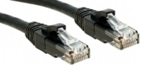 Lindy Cat.6 UTP Premium 5.0m netwerkkabel 5 m Zwart