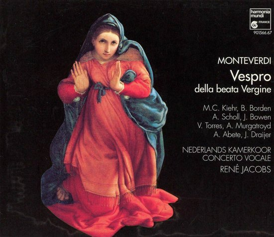 Monteverdi: Vespro della beata Vergine / Rene Jacobs, et al