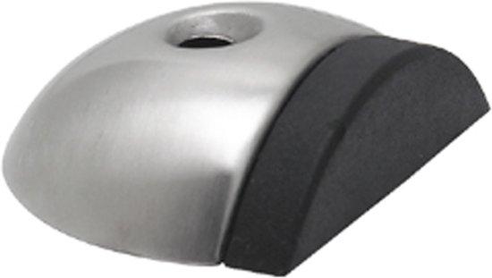 Qlinq Deurbuffer vloermodel RVS 51mm