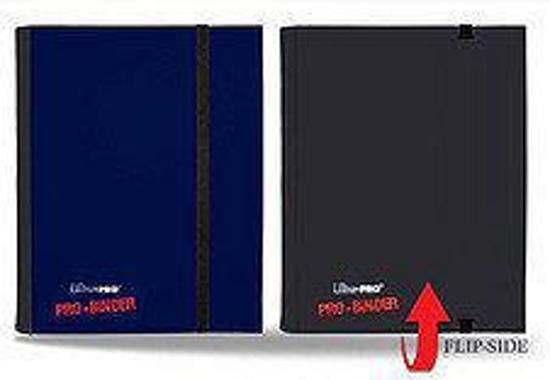 Pro-binder 4-Pocket FLIP Blue / Black
