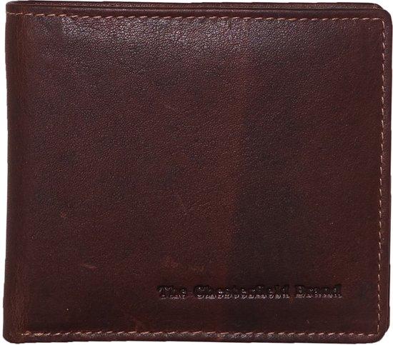 e8afa7aba1f bol.com | Chesterfield cognac leren heren portemonnee compact