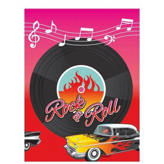 Rock and Roll tafelkleed
