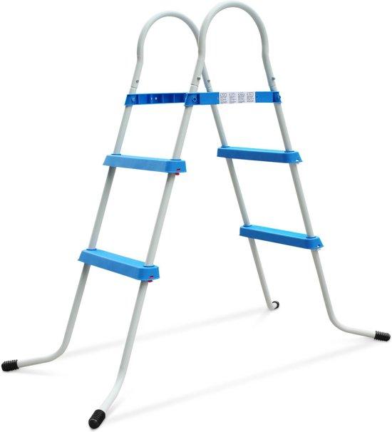 Ladder voor tuin zwembad met een hoogte van maximaal 84cm