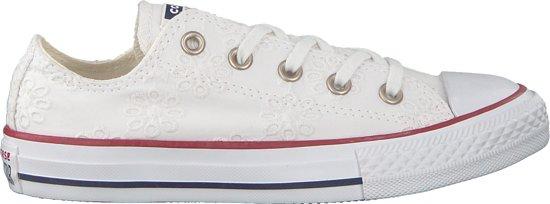 Maat Taylor Wit All Converse Meisjes 32 Sneakers Ox Chuck Star Kids vmN08nw