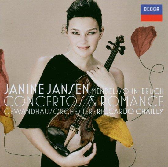 Concertos & Romance; Mendelssohn-Bruch