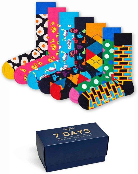 Happy Socks 7-Day  Giftbox - Maat 41-46