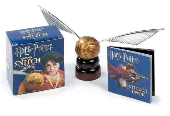Harry Potter Golden Snitch Sticker Kit - Running Press