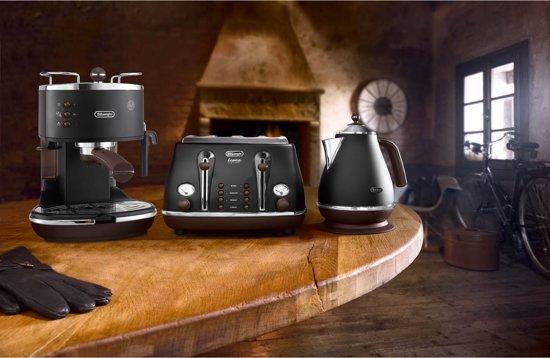 De'Longhi Icona Vintage ECOV311.BK Zwart