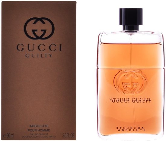 8ef5599f5d8 MULTI BUNDEL 2 stuks GUCCI GUILTY ABSOLUTE POUR HOMME Eau de Perfume Spray 90  ml