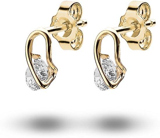 oorbellen goud zirkonia
