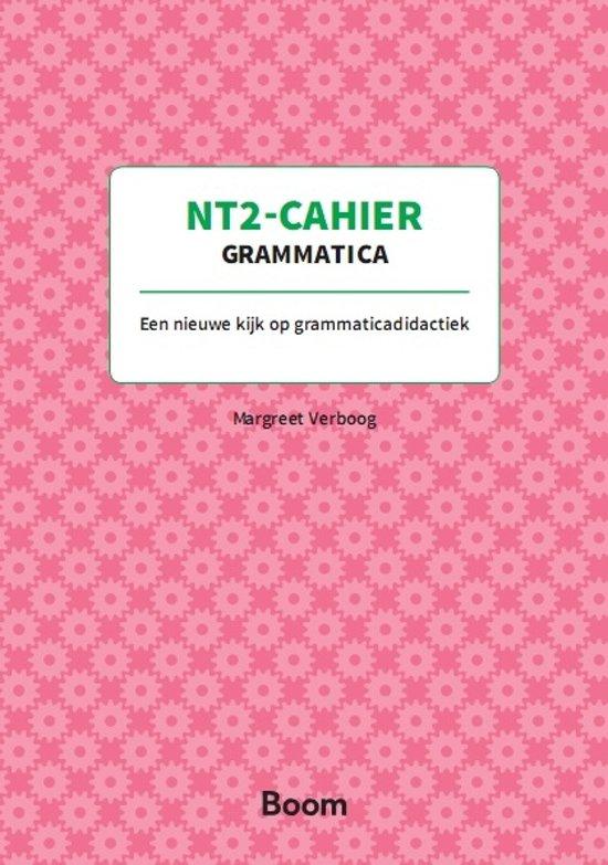 NT2-cahier Grammatica