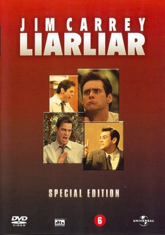 Cover van de film 'Liar Liar'