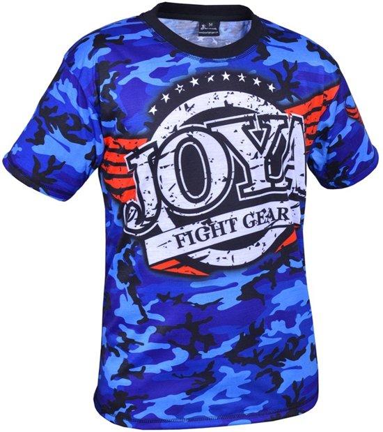 Joya Sportshirt - Maat M  - Unisex - blauw/rood/zwart/wit