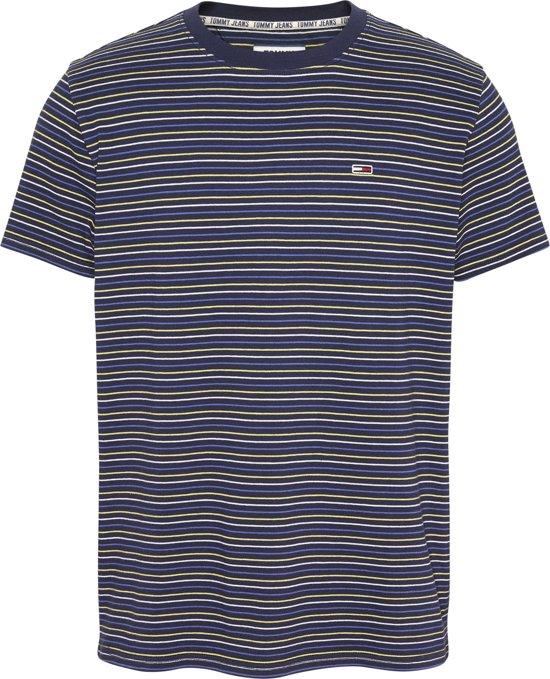 Tommy Hilfiger T-shirt Streep Navy (DM0DM06951 - 0A7)